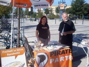 piratenstand 07.09